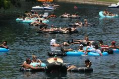 Floating the Guadalupe River ....never done this....keep thinking next summer...