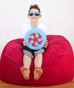 I want a beanbag chair. Or twelve. // Cherry Mini Sac Beanbag by Jaxx Bean Bags