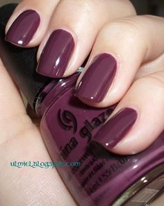 Did someone say nail polish?: NOTD: China Glaze - VII