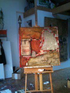 Deux toiles abstraites en devenir... - Le blog de Sosso, artiste peintre