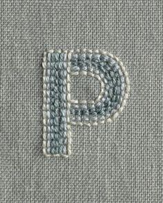 Our Learn to Embroider an Alph