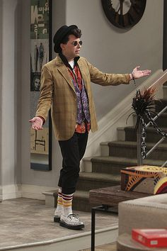 Jon Cryer Dresses Like Ducky on Two and a Half Men | POPSUGAR Entertainment- Love him!