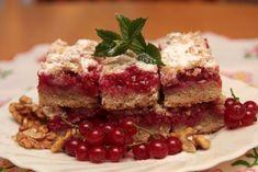 Ríbezľový koláč s orechovou posýpkou Sweet Desserts, Sweet Recipes, Meatloaf, Cheesecake, Food And Drink, Baking, Anna, Cakes, Coffee