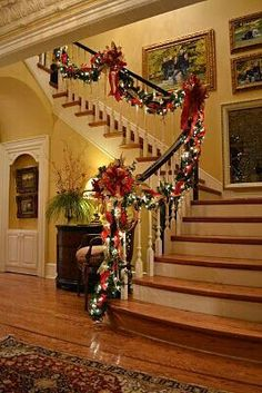 someday i will have a home with stairs so I can decorate it just like this