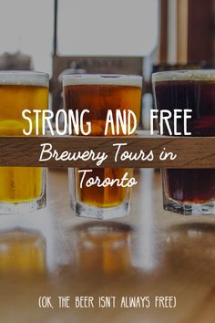 The craft beer game is strong in Toronto. Are you thirsty yet? | @explorecanada