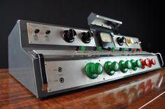 ALTEC LANSING WESTERN ELECTRIC 230 B Vintage Tube Console Radio Broadcast Mixer