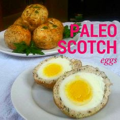 Scotch Eggs wrapped is delish homemade turkey sausage. Would be great for a brunch party!