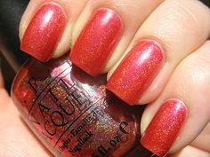 OPI Crim-Sun (pictured), Coral Reef, What's Dune?, and A Day At The Peach...all from the Summer For Shore Summer 2003 collection.