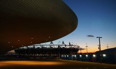 Fantastic image of the Olympic Park in London.