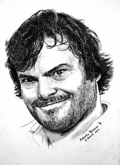 jack black by RobertoBizama on deviantART