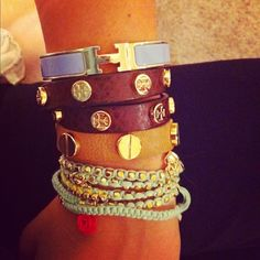 Cartier, Tory Burch and Hermes jewelry <3