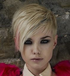 2010-2011 Short Blonde Hairstyles