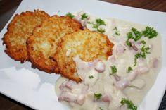 Placki ziemniaczane po Litewsku , to ciekawe pyszne danie , nie koniecznie oryginalne ale smakowite i proste w wykonaniu . Obiad w 5 minut