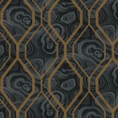 "Urban Chic Malachite 27' x 27"" Trellis Roll Wallpaper"
