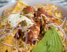 A Fish is the Dish twist on your classic nachos – topped with tasty fish! Sardine Recipes, Fish Recipes, Seafood Recipes, The Dish, Nachos, Food And Drink, Tasty, Fresh, Meals