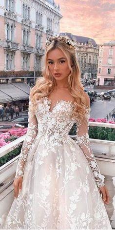 Designer Highlight: Milla Nova Wedding Dresses Milla Nova Wedding Dresses Collection 2016 includes gowns for any taste. Each dress inimitable and splendid. You surely find gorgeous dress for yourself. Pink Wedding Dresses, Cute Prom Dresses, Cute Wedding Dress, Princess Wedding Dresses, Pretty Dresses, Bridal Dresses, Beautiful Dresses, Wedding Gowns, Gorgeous Dress