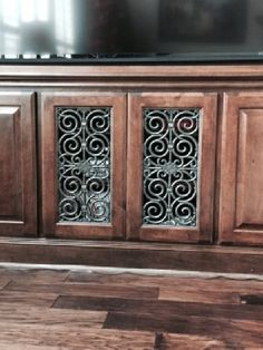 Cabinet Doors Kitchen Wrought Iron