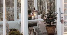 Christmas Love, Christmas Morning, Christmas Inspiration, Home Decor Inspiration, Christmas Decorations, Holiday Decor, Hygge, Ladder Decor, Cottage