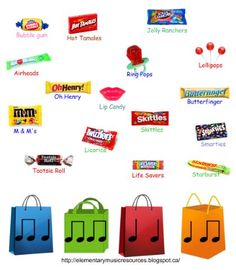 Candy Rhythms- SMARTBoard  Sweet Lesson Plans!