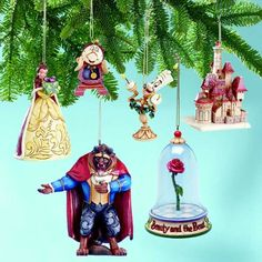 We have all Disney ornaments for our Christmas tree.  These would be a nice addition.
