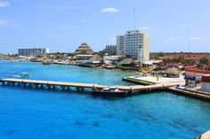 Cozumel, Mexico- We took a bus ride from a cruise port- We went to a resort and had a meal-- There were a few shops on the way in, but the best part was the beach, where we climbed a huge, floating, inflatable mountain and slid off of it, back into the water. We also took kayaks out and got some sun on the beach. Very worth it.