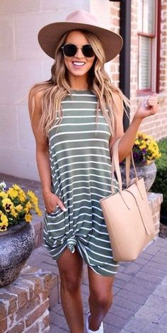 Cute Summer Outfits For Women And Teen Girls Casual Simple Summer Fashion Ideas. Clothes for summer. Summer Styles ideas Trending in Trendy Summer Outfits, Outfits For Teens, Spring Outfits, Summer Outfits For Vacation, Classy Outfits, Summer Casual Dresses, Summer Clothes For Women, Womens Fashion Casual Summer, Spring Clothes