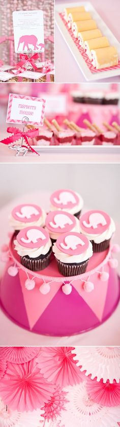 Elephant themed baby shower - even more food! - by Kara Party Ideas http://www.karaspartyideas.com/2011/05/elephant-baby-shower-for-party-dress.html