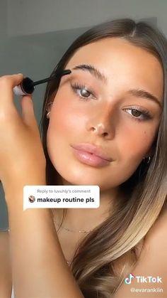 Edgy Makeup, Makeup Goals, Skin Makeup, Beauty Makeup, Simple Makeup, Makeup Inspo, Sommer Make-up Looks, Maquillage On Fleek, Makeup Hacks Videos