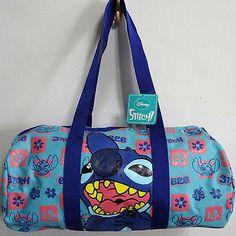 Disney Lilo & Stitch Duffle Gear Gym Sport Travel Holdall Backpack Rucksack Bag