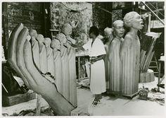 Art - Sculpture - Harp (Augusta Savage) - Harp - ID: 1654255 - NYPL Digital Gallery