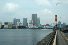 Johor Bahru Malaysia seen from causeway I walk on this place pretty cool experience,