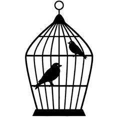 Bird Cage SVG File Download
