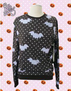 Hello Cavities LIMITED EDITION Twinkle Twinkle Bat Sweatshirt in CHARCOAL