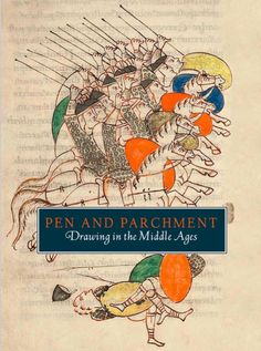 Pen and parchment : drawing in the Middle Ages / Melanie Holcomb ; with contributions by Lisa Bessette, Barbara Drake Boehm, Evelyn M. Cohen, Kathryn Gerry, Ludovico V. Geymonat, Aden Kumler, Lawrence Nees, William Noel, Wendy A. Stein, Faith Wallis, Karl Whittington, Elizabeth Williams, and Nancy Wu. 2009. Metropolitan Museum of Art (New York, N.Y.). Metropolitan Museum of Art Publications.  #drawing #medieval #MiddleAges