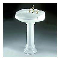 Victorian Pedestal Sink