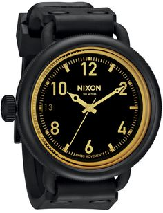 Nixon October Matte Black/Orange Sniper