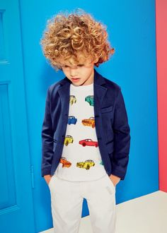 Aston Martin Boys White Multi Car Print T-Shirt