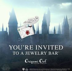 Jewelry Bars are so much fun! Get together with your friends and family. Design Meaningful Jewelry to share your story or create a gift for someone else!  Contact me to set up your in home or online Jewelry Bar today!  #harrypotter #jewelrybar #onlineparty #youreinvited #party #freejewelry #hedwig #hogwarts #acceptanceletter #harrypotterfororigamiowl #potterhead #locketsbybre