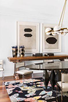 modern dining room w