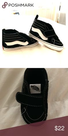 245e1555d95 Infant Vans Crib Shoe - NWOT Infant Vans Crib Shoes. Brand new never worn!