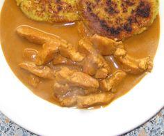 Rezept Curryrahmsoße (mit Putengeschnetzeltem) von gustosa377 - Rezept der Kategorie Hauptgerichte mit Fleisch