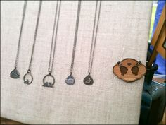 love these adorable necklaces by figs + ginger.