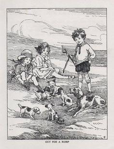 Childrens Book Illustrations Old Prints. The best vintage book illustrations lovingly curated at vintagebookillustrations.com
