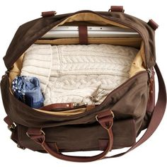 Oil Cloth Weekender Travel Bag (145 AUD) ❤ liked on Polyvore featuring bags, accessories and filler