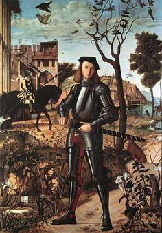 Portrait of a Knight, 1510 - Vittore Carpaccio