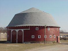 Hoosier round barns