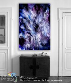 Interior Design Art Inspiration- For as high as the heavens are above the earth, so great is his love for those who fear him. Psalm 103:11. So Great Is His Love. Limited Edition Christian themed art. Richly hand embellished with textured brush strokes. Signed & Numbered abstract art