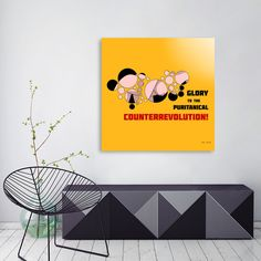 Discover «Counterrevolution», Numbered Edition Acrylic Glass Print by Max Movko - From $75 - Curioos