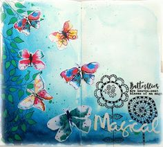 Susanne Rose Designs Mixed Media Thoughts Art Journal Video Series