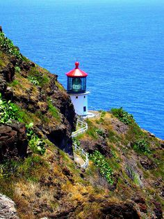 If i had a chance to pick a place to go i will pick Makapu'u Lighthouse - Oahu, Hawii .